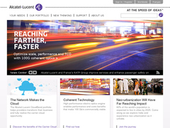 site interne d'alcatel-lucent