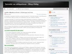 BlogOblig : investir en obligations