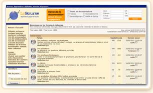 les forums du site Lobourse